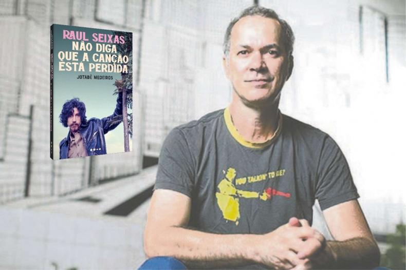 Livro sobre Raul Seixas é lançado dentro do 14º Fest Aruanda do Audiovisual Brasileiro