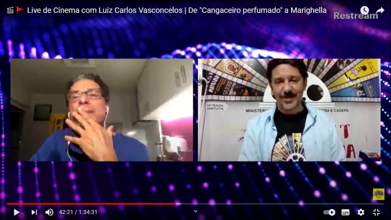 Luiz Carlos Vasconcelos vai dirigir filme e não descarta volta de 'Vau da Sarapalha'