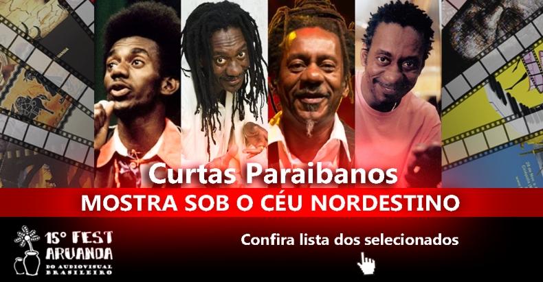 Saiu a lista de Curtas PB no Fest Aruanda e filme sobre Luiz Melodia é o primeiro longa anunciado